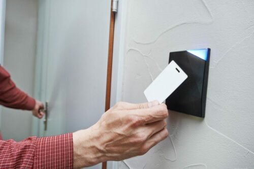 Card Reader access control system installation in Snellville